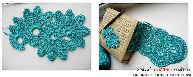 How to tie a ribbon crochet, master classes with diagrams, descriptions and photos .. Photo # 10