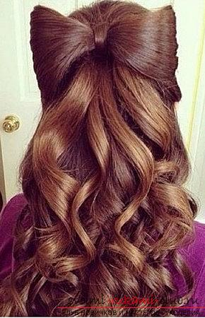 Interesting and trendy hairstyles for long hair for 2016 with their own hands. Photo №13