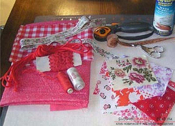 Sew a bag in the style of technology Japanese patchwork. Photo №1