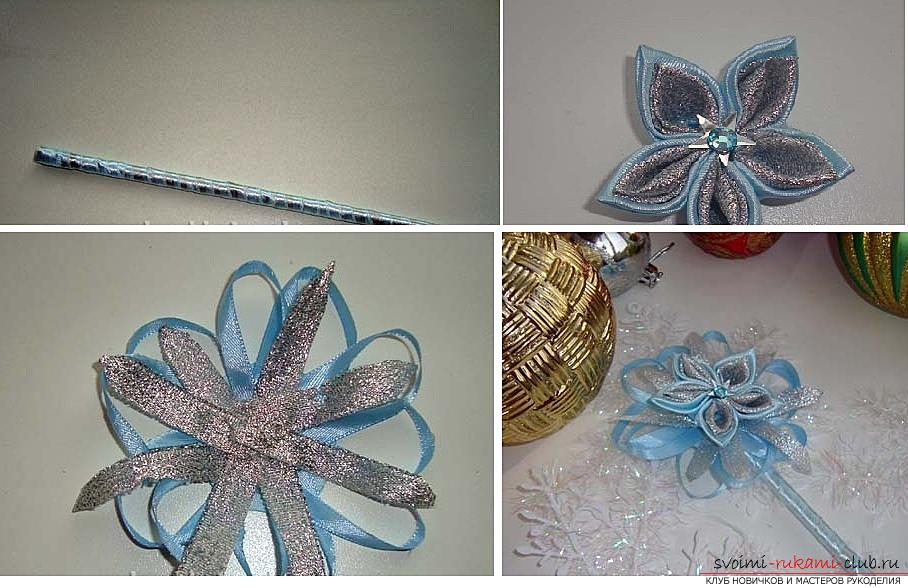 How to make a rim decoration for the hair in the form of turquoise flowers in Kansas technique, free, detailed photos and description. Photo number 16