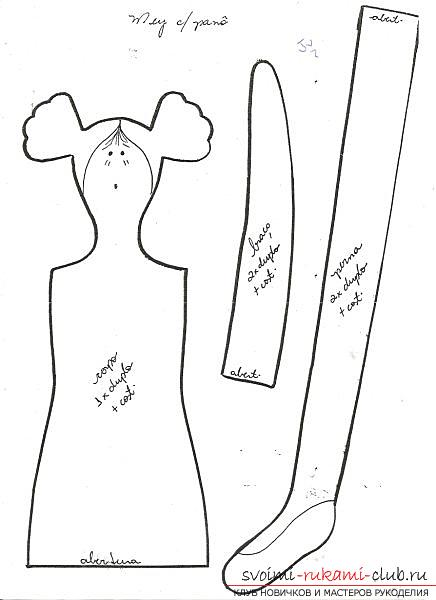 How to carve a doll. Photo №4