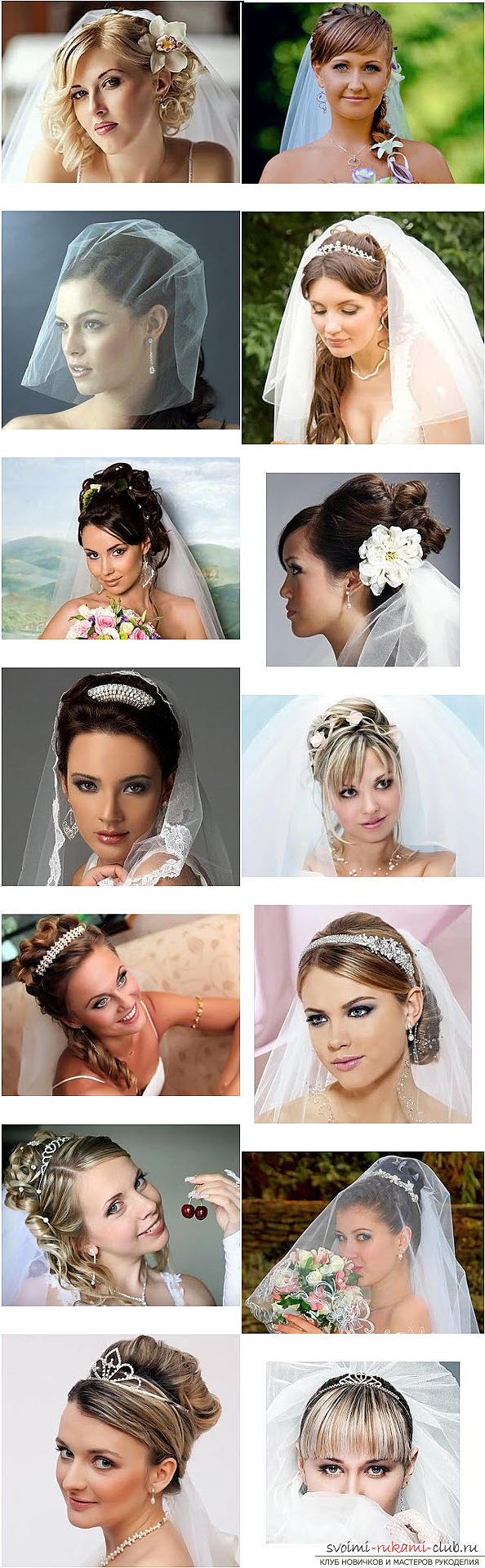 Master the mastership of creating hairstyles for the bride with your own hands. Photo # 2