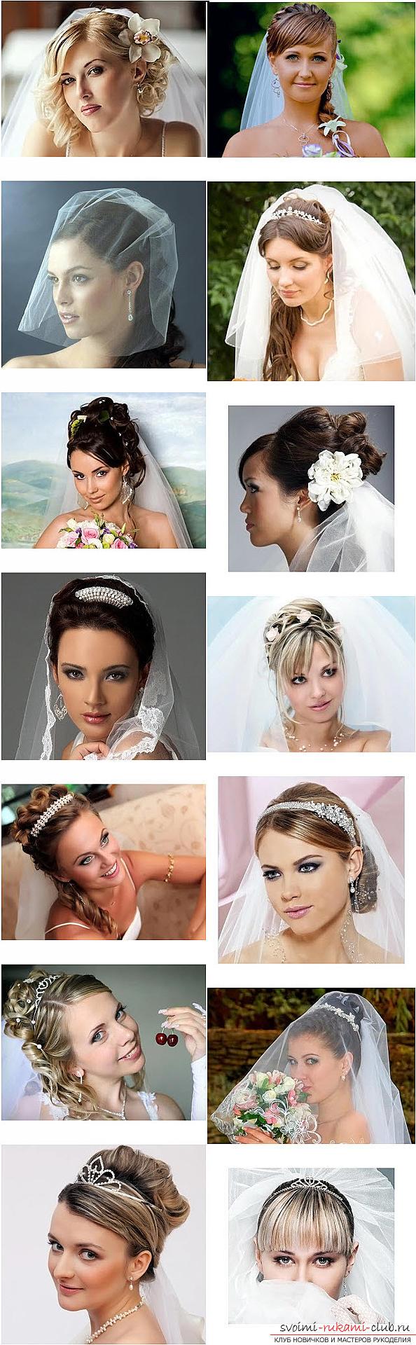 Beheers het meesterschap van het creëren van kapsels voor de bruid met je eigen handen. Foto # 2