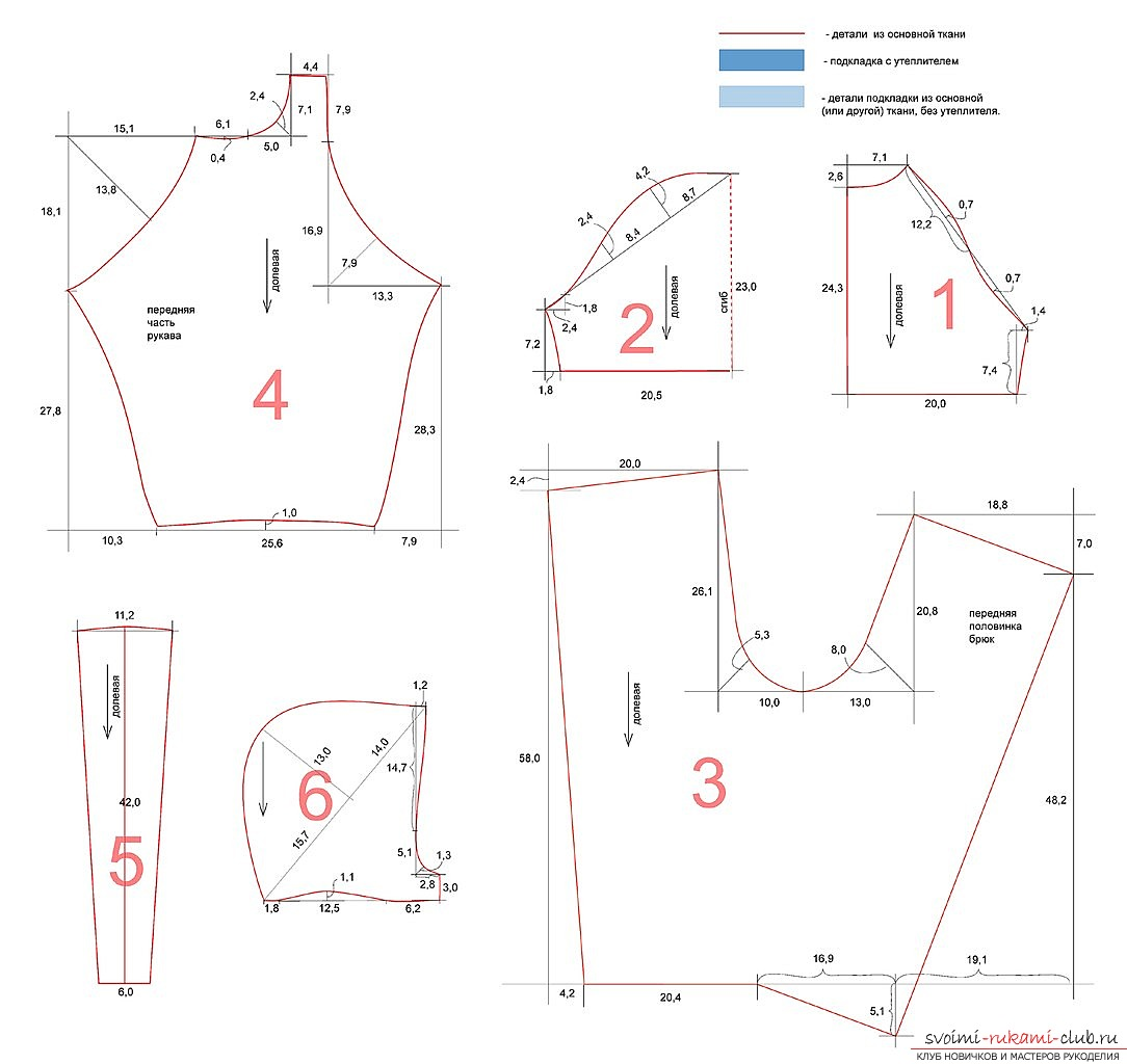 photo pattern of the original children's overalls. Picture №3