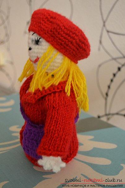 master class with a photo will teach the making of a self-made toy - dolls with their own hands. Photo №6