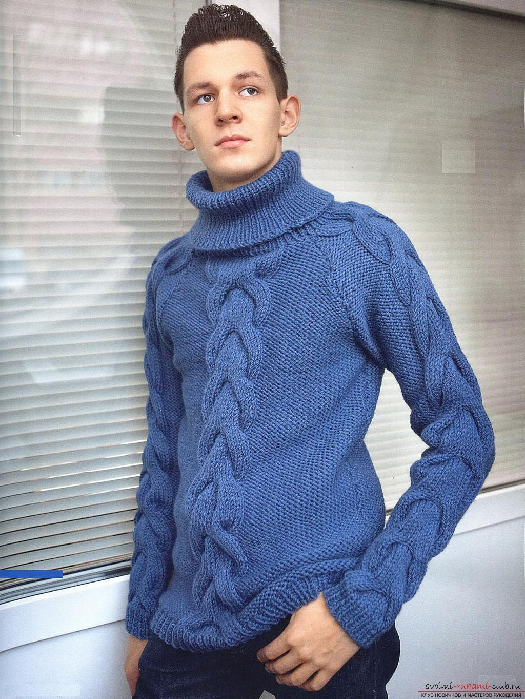 knitted knitted sweater. Photo №4