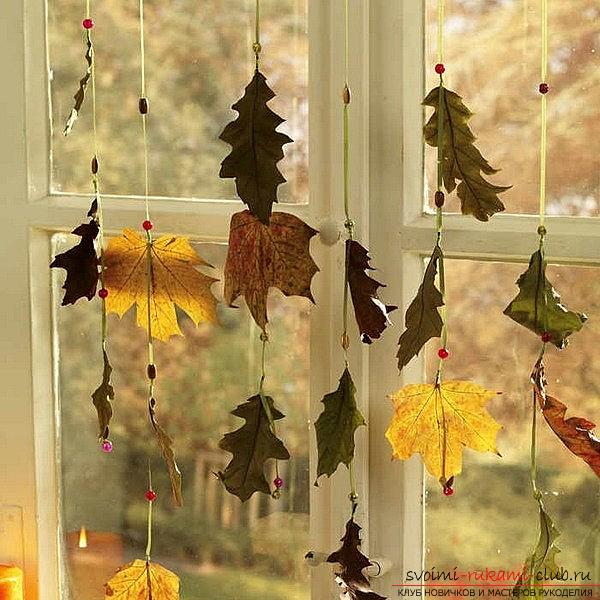 Crafts from maple leaves with their own hands: several lessons. Photo №6