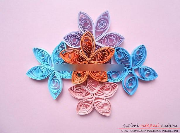 Quilling postcards for the day of jam with your own hands - a step-by-step master class. Photo №5