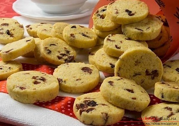 A delicious recipe for corn biscuits in a home oven with photos and a recipe. Photo №5