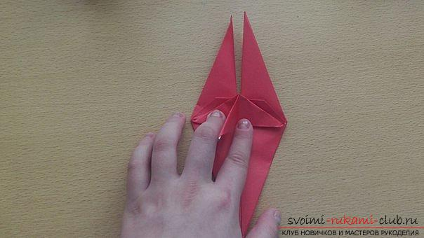 This detailed master class contains an origami-dragon scheme made of paper, which you can make by yourself. Photo # 27