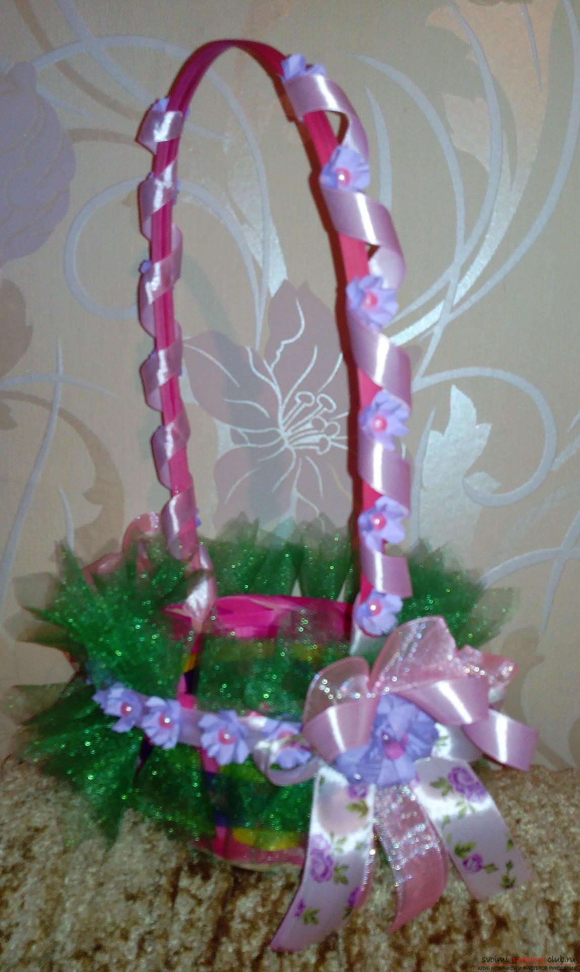 Baskets for a gift by March 8. Picture №3