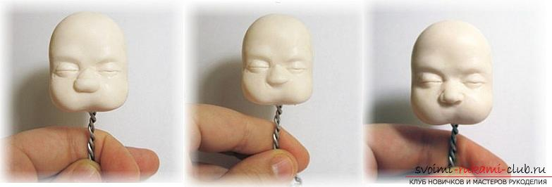 Master class on modeling dolls from polymer clay with their own hands. Photo Number 22