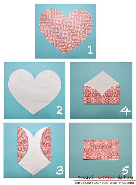 Postcard is an envelope made by own hands. Photos and tips for their implementation .. Photo # 2