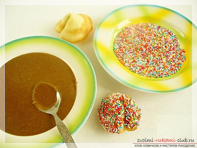 How to cook delicious and beautiful New Year cookies, a recipe of Chinese cookies with predictions and honey crackers with kind wishes. Picture №10