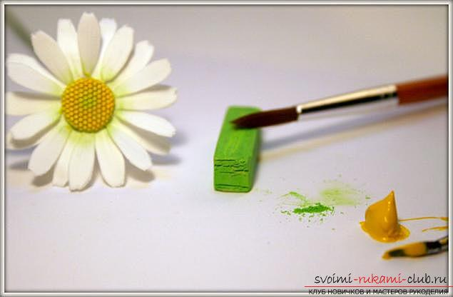 Master classes on the creation of bouquets of polymer clay with description and photo .. Photo # 16