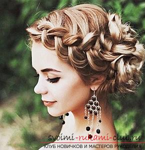 A lot of wedding hairstyles for 2016 with their own hands. Photo number 17