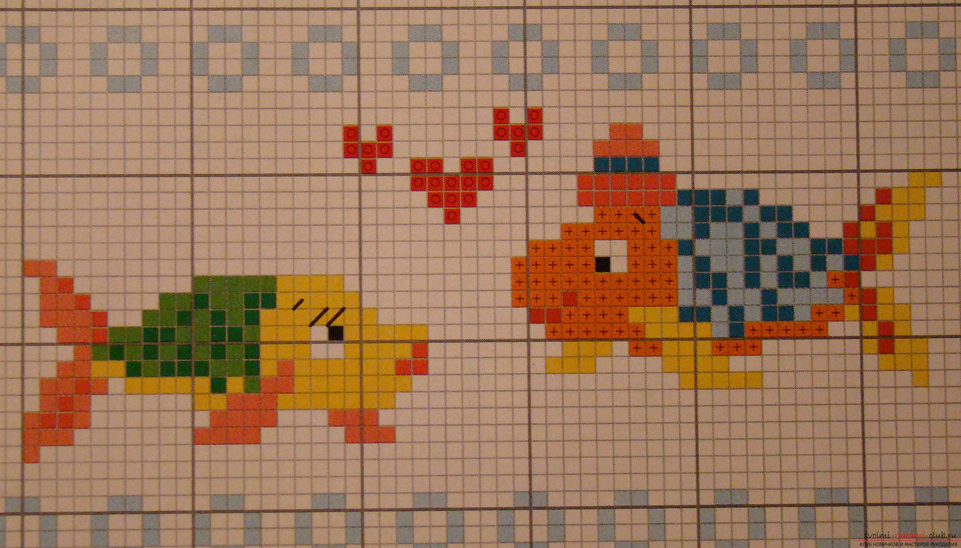 Children's embroidery of pictures cross. Photo №4