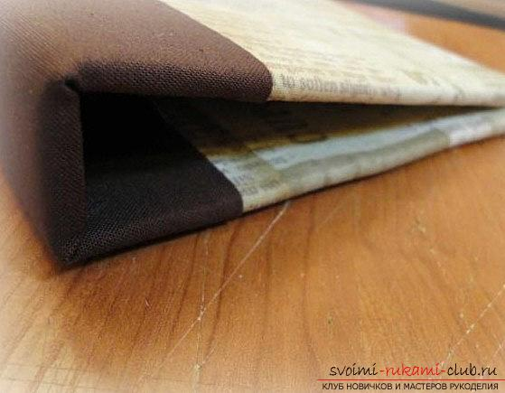 Scrapbook book binding with their own hands - a technique and a master class for work. Photo №6