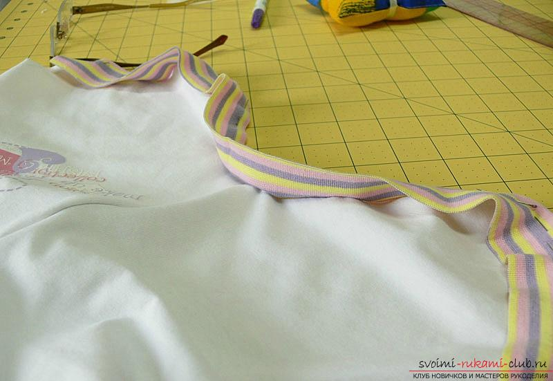 Pattern and sewing body for a newborn baby. Photo Number 14