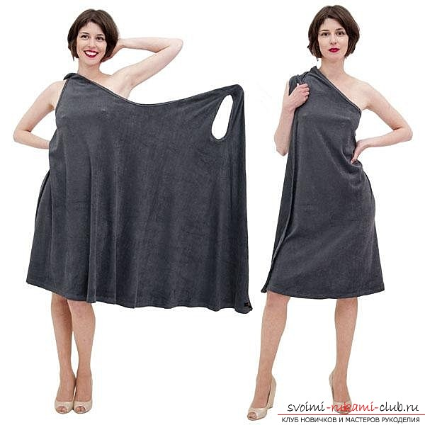 How can you sew a dress yourself. Lessons sewing dresses for free .. Picture №1
