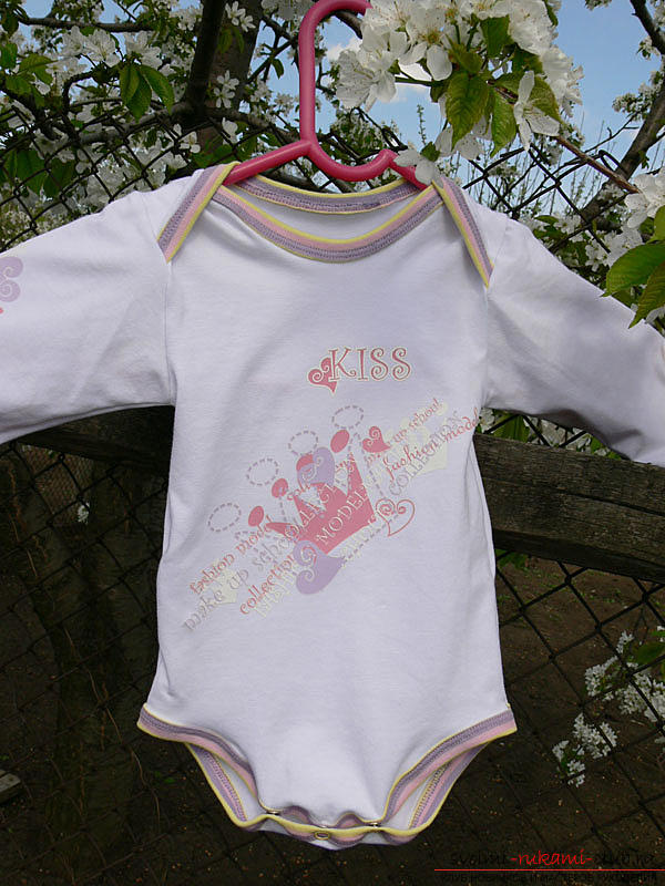 Pattern and sewing body for a newborn baby. Photo Number 18