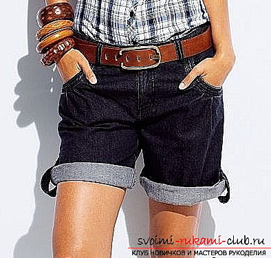 How to sew fashionable shorts. Photo №8