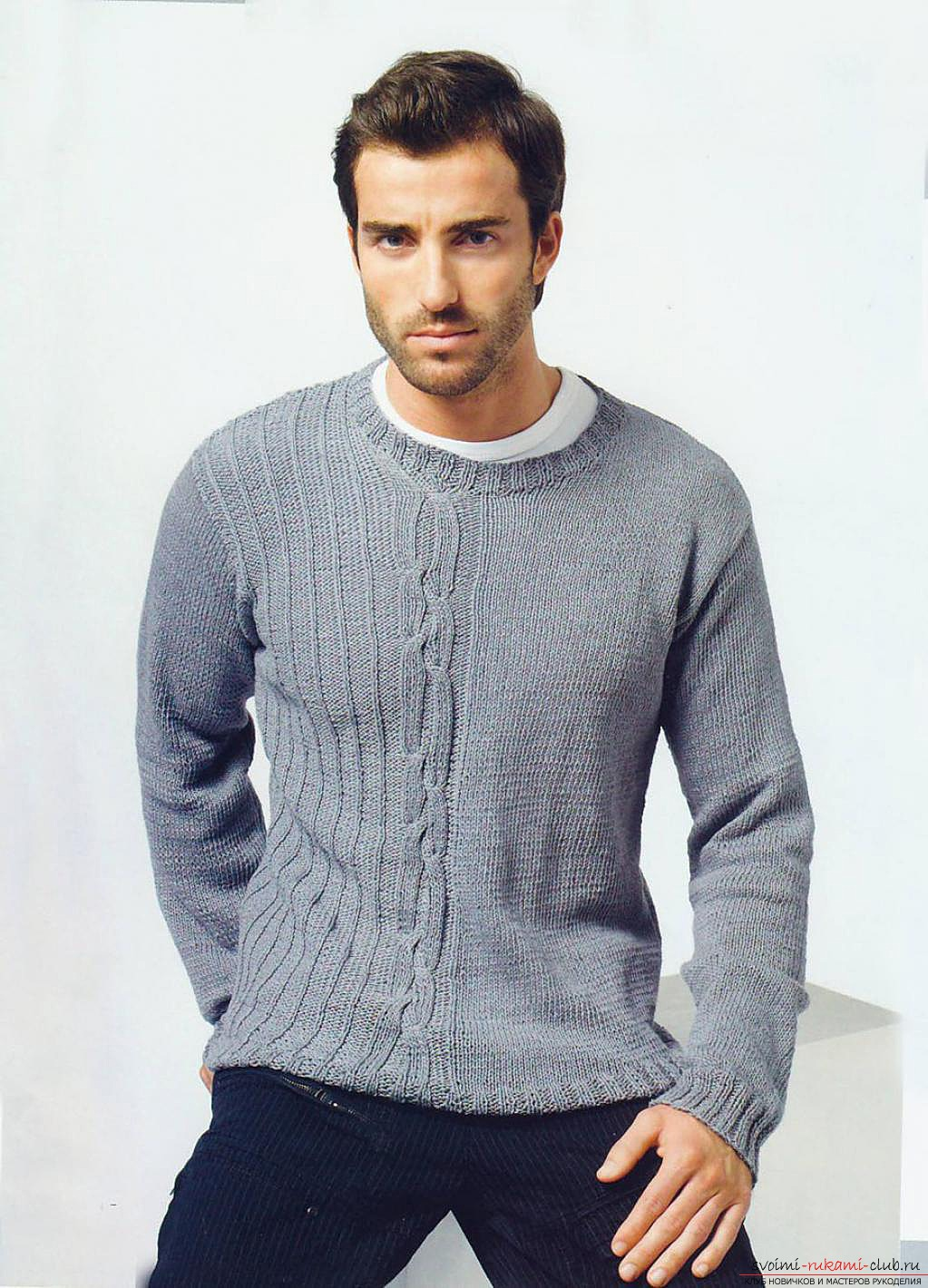 knitted knitted sweater. Photo №5