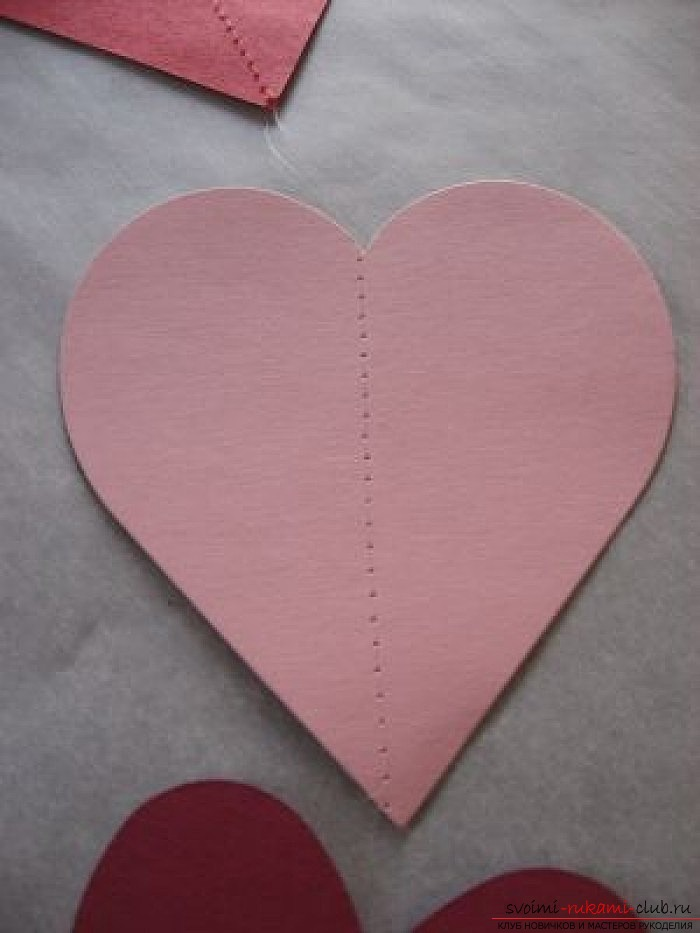 We make valentines with our own hands. Photo number 12