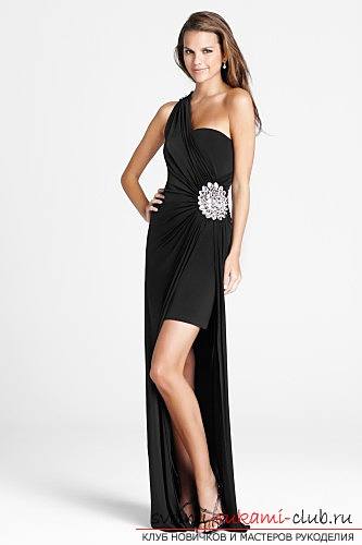 How to prepare and sew a prom dress yourself: Tips, photos for students and graduates of the school .. Photo # 5