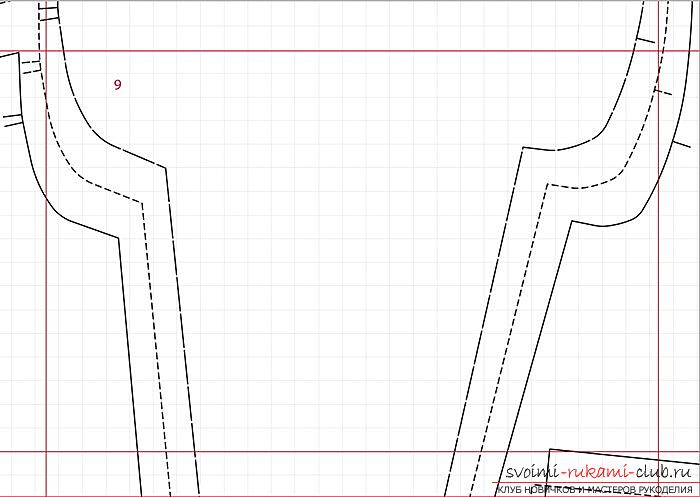 Pattern of a coat-manto for a girl of preschool age. Photo Number 11