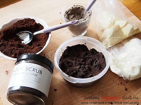 Recommendations for making a gift for a girl in the form of a body scrub made from natural ingredients .. Photo # 3