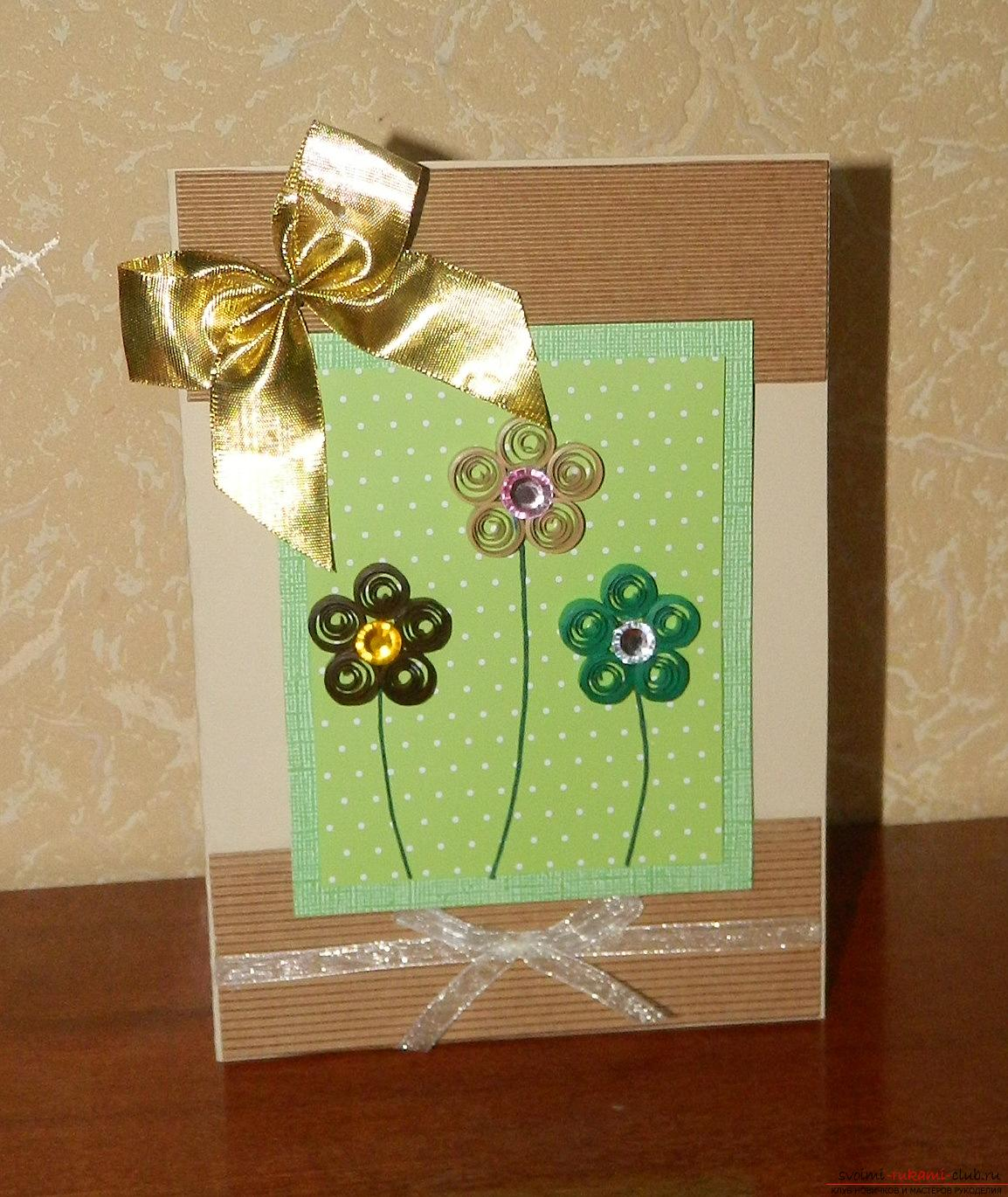 This master class will tell you how to make a birthday card with your own hands .. Photo # 18