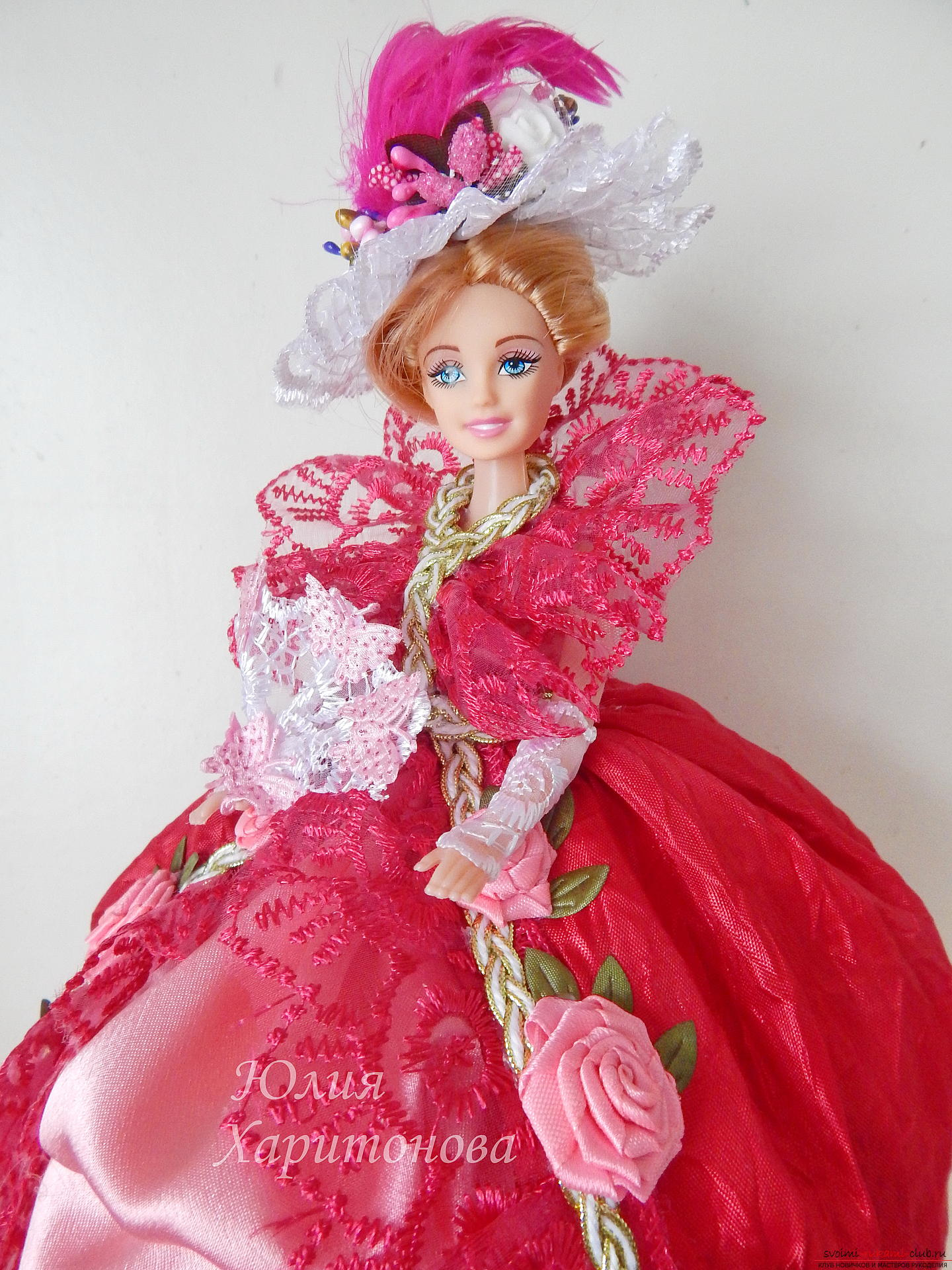 Chic dresses for Barbie with their own hands. Photo №1