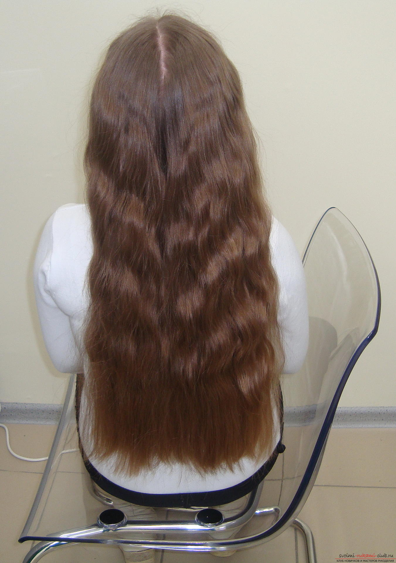 Photo to the lesson on the weaving of French braids. Photo # 2