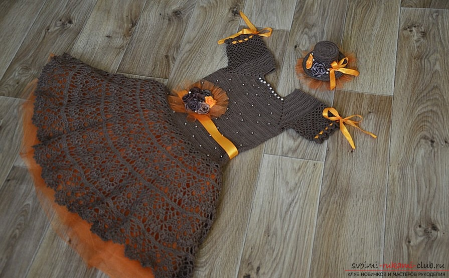 How to make an autumn ball dress with your own hands. Tips and photos .. Photo # 3