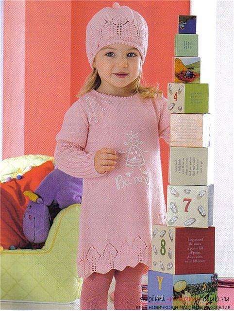 knitted winter hats for girls. Photo # 2