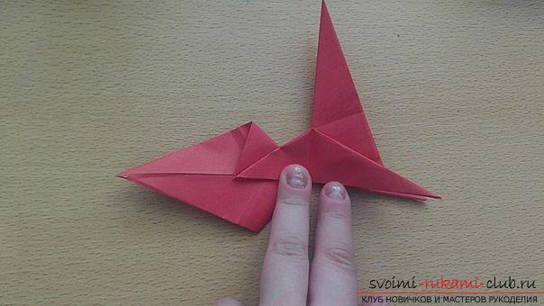 This detailed master class contains an origami-dragon scheme made of paper, which you can make by yourself. Photo # 29