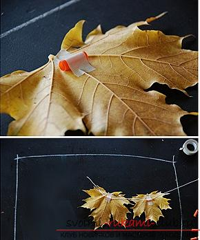 Creating children's autumn crafts with their own hands .. Photo # 4