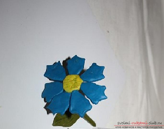 Lessons on modeling and creation of hand-made articles on the theme of flowers for children. Master classes on modeling flowers from various materials .. Photo # 6