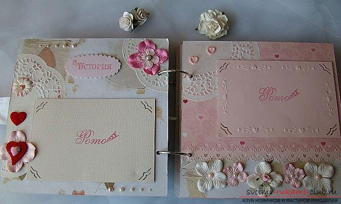Wedding scrapbooking - ideas and realization of the album - master class. Photo # 2