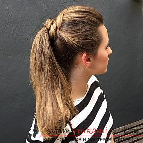 Interesting and trendy hairstyles for long hair for 2016 with their own hands. Photo №26