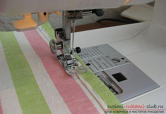 Master class on sewing an apron. Picture №10