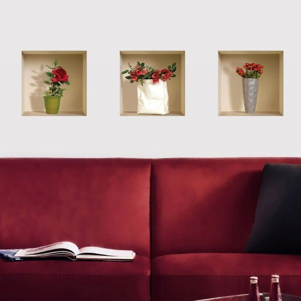 Decorative Wall Stickers with 3D