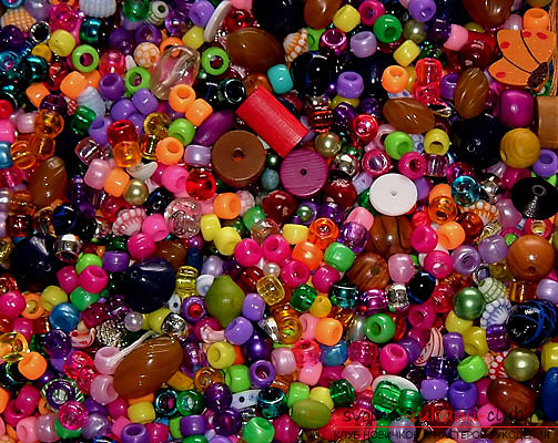 Schemes for bracelets from beads .. Picture number 2