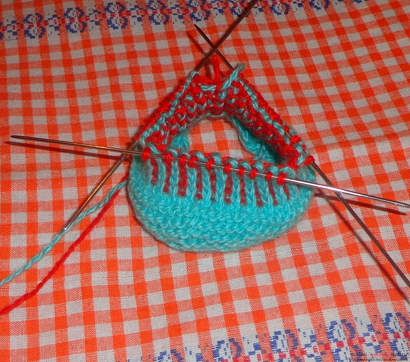 Lesson on knitting pinets with a detailed description of steps and photos. Photo №7
