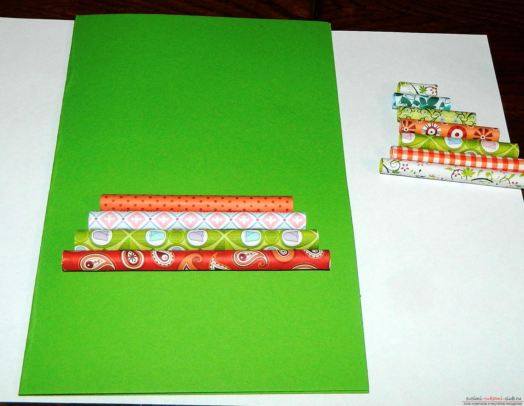 This master class will teach you how to make your own hands a New Year greeting card. Photo # 11