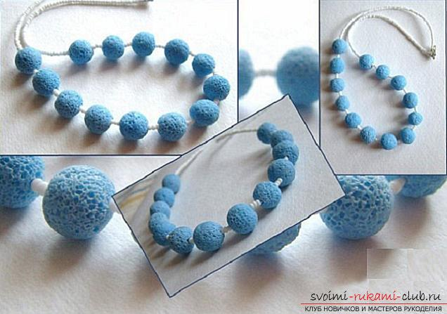 How to create a bracelet of polymer clay with your own hands, master class with a photo .. Photo # 6