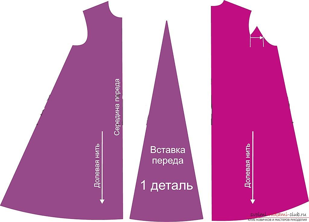 photo-scheme for the dress pattern. Picture №3