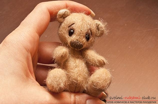 How to sew a bear with their own hands. Lessons and tips for sewing are free .. Picture №3