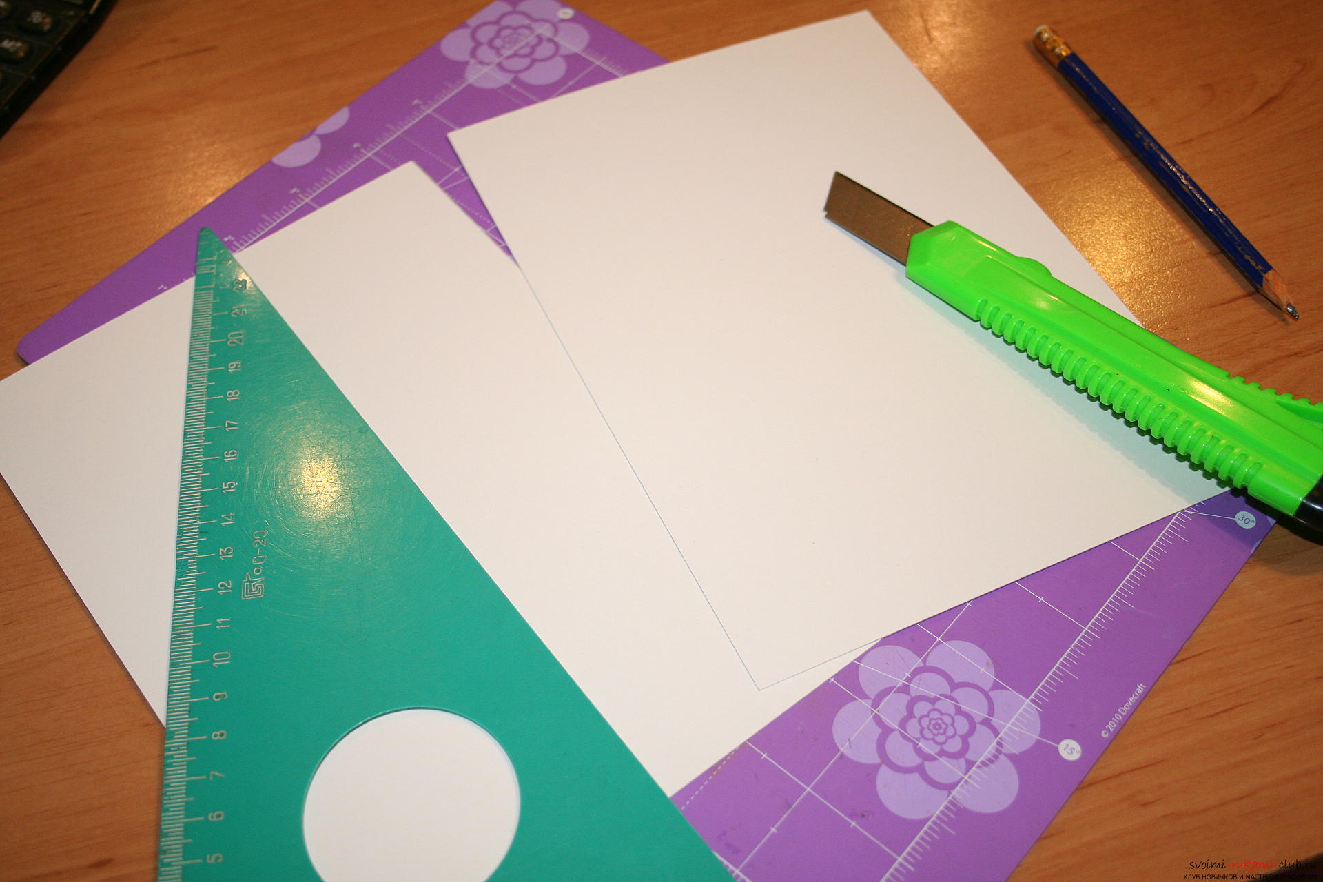This master class will teach you how to create a notebook using scrapbooking techniques. Picture №3
